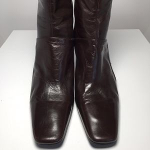Nine West Leather Boot- 020